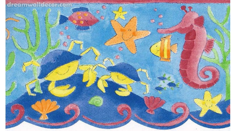 Home Under Sea World Wallpaper Border 900x500