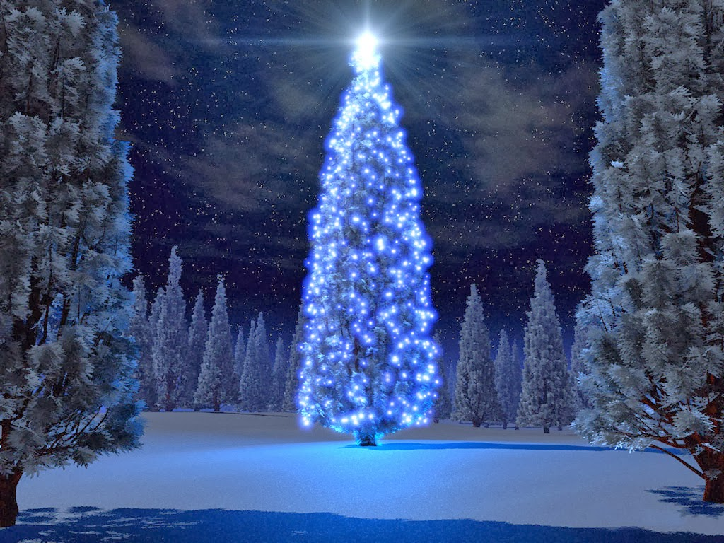 3d christmas beautiful wallpapers 3d christmas tree wallpaper 3d 1024x768