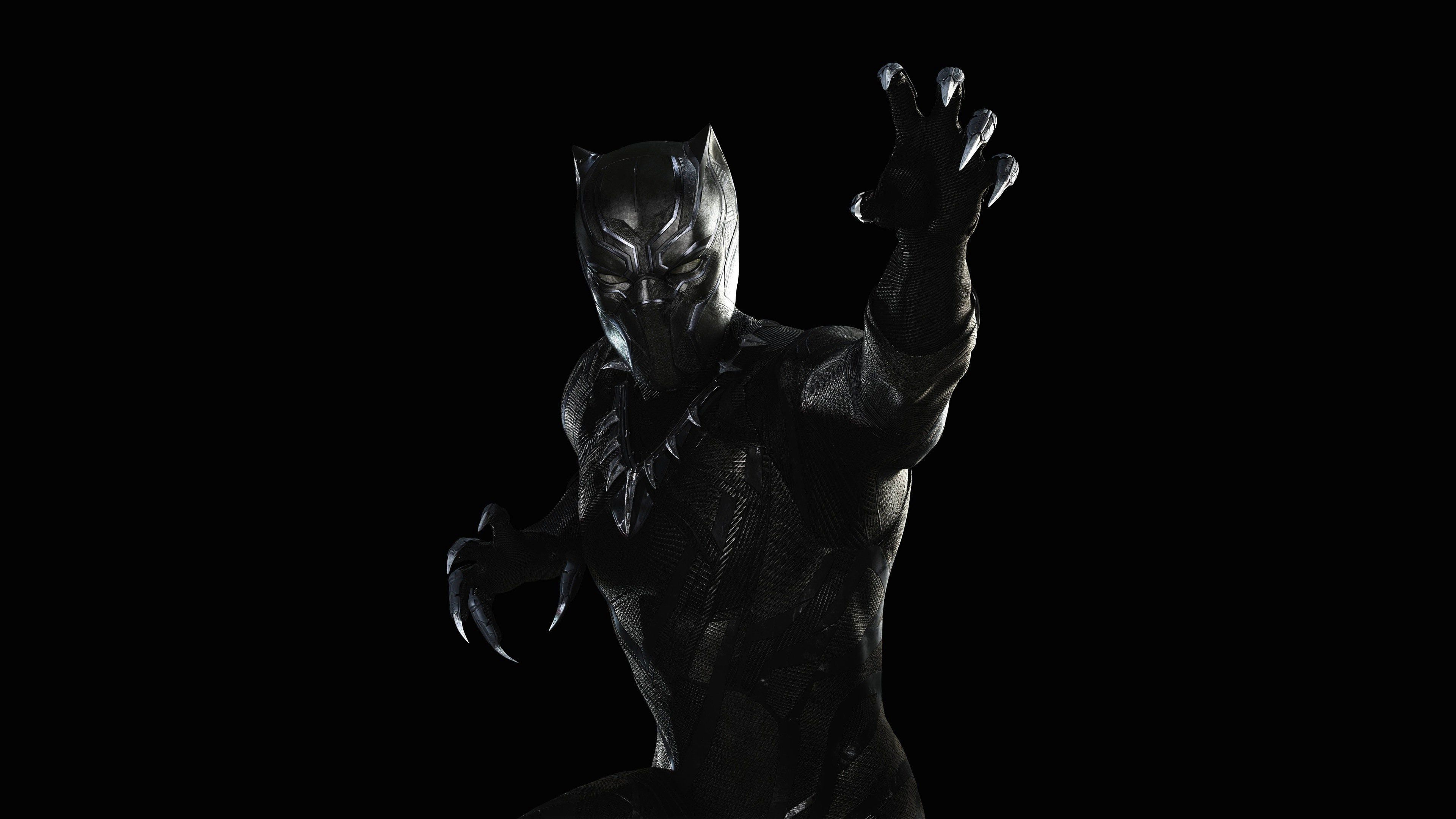 88 Black Panther Marvel Wallpapers On Wallpapersafari