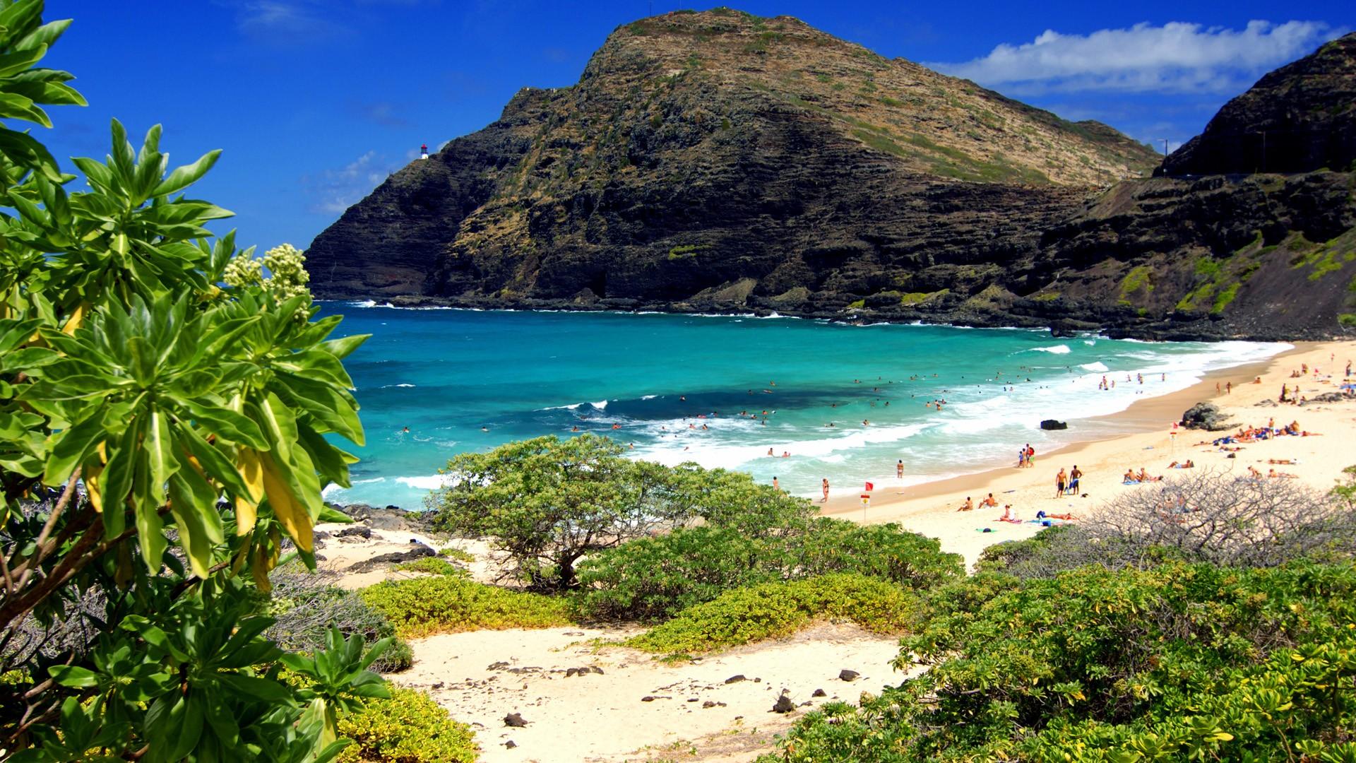 Daily Wallpaper: Oahu Beach, Hawaii   I Like To Waste My Time