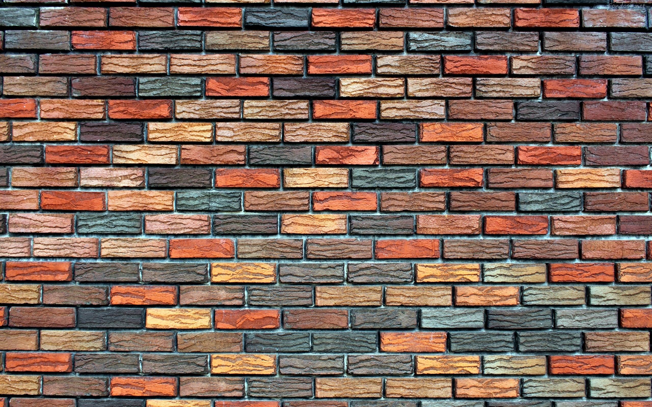 Descargar Fondos de pantalla textura de pared de ladrillos hd 2560x1600