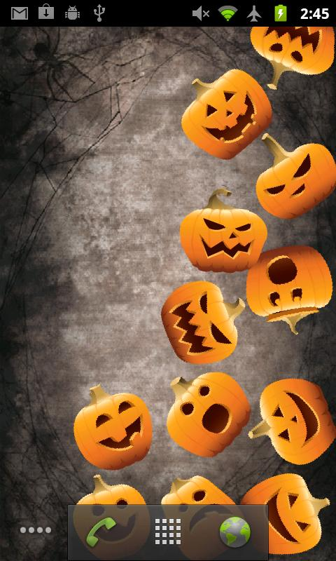Live Wallpaper Android App Review Download Halloween Live 480x800
