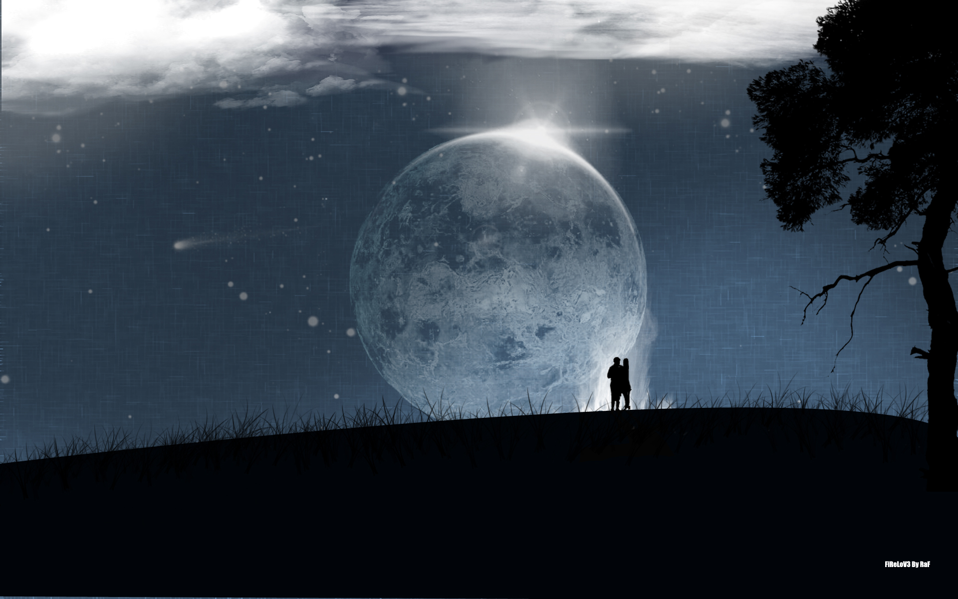 Full Moon wallpaper   228778 1920x1200