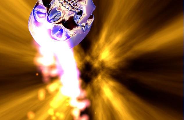 comDesktop UtilitiesScreensaversAztec Skull 3D Screensaverhtml 633x414