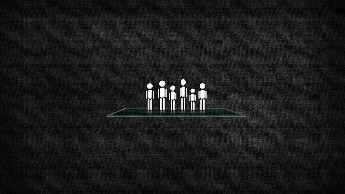 Faceless Family Wallpaper by tonzie 1191x670