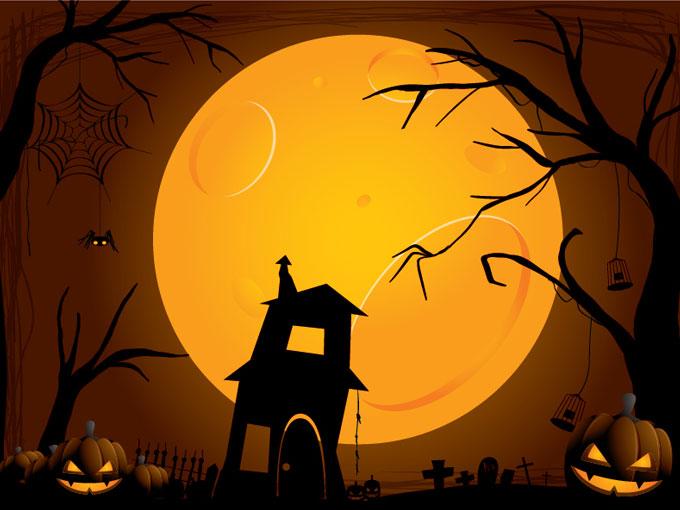 Halloween Background 11038   Vectors 680x510