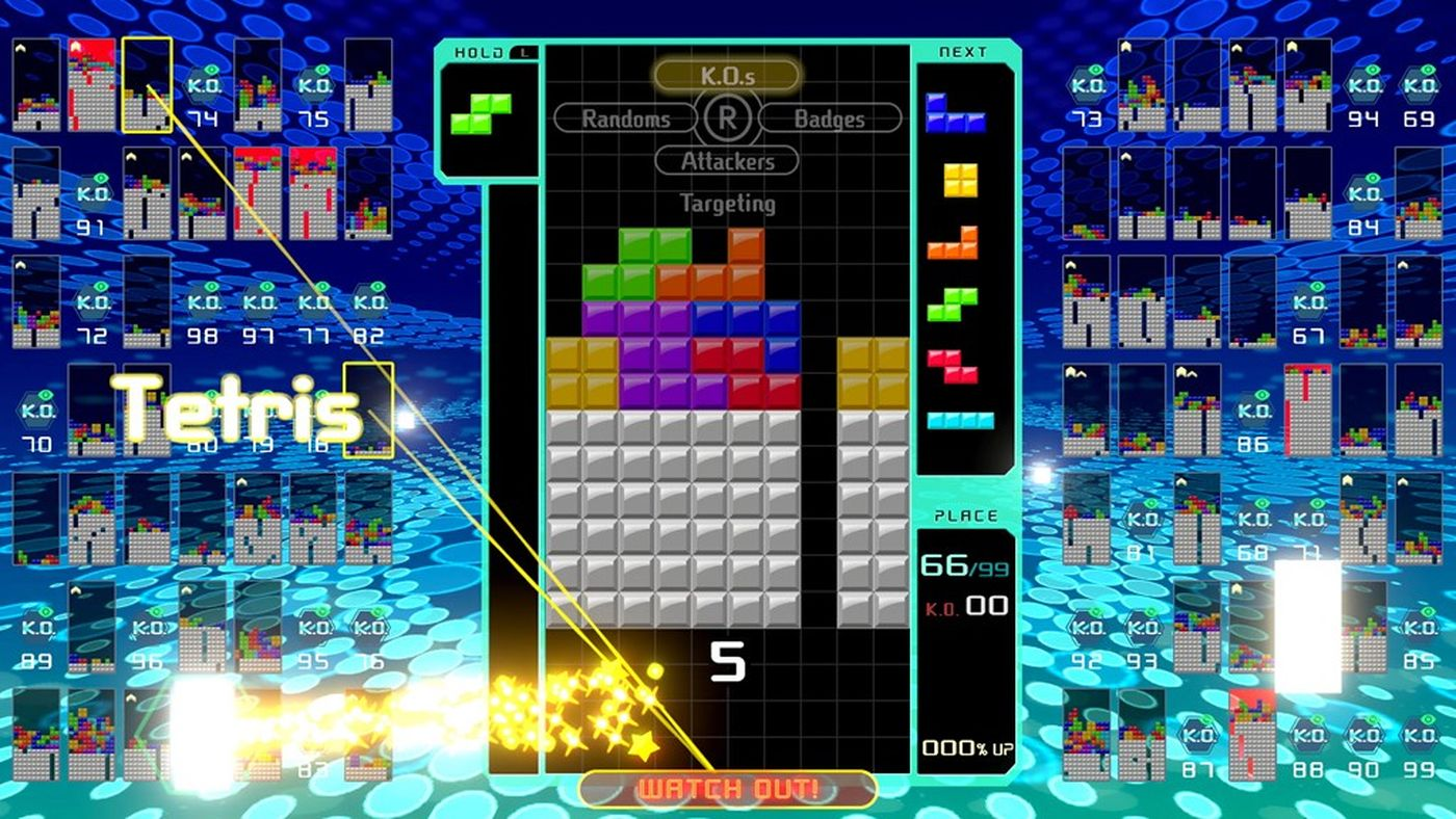 Tetris 99 is the opposite of Tetris Effect and its amazing   The 1400x788