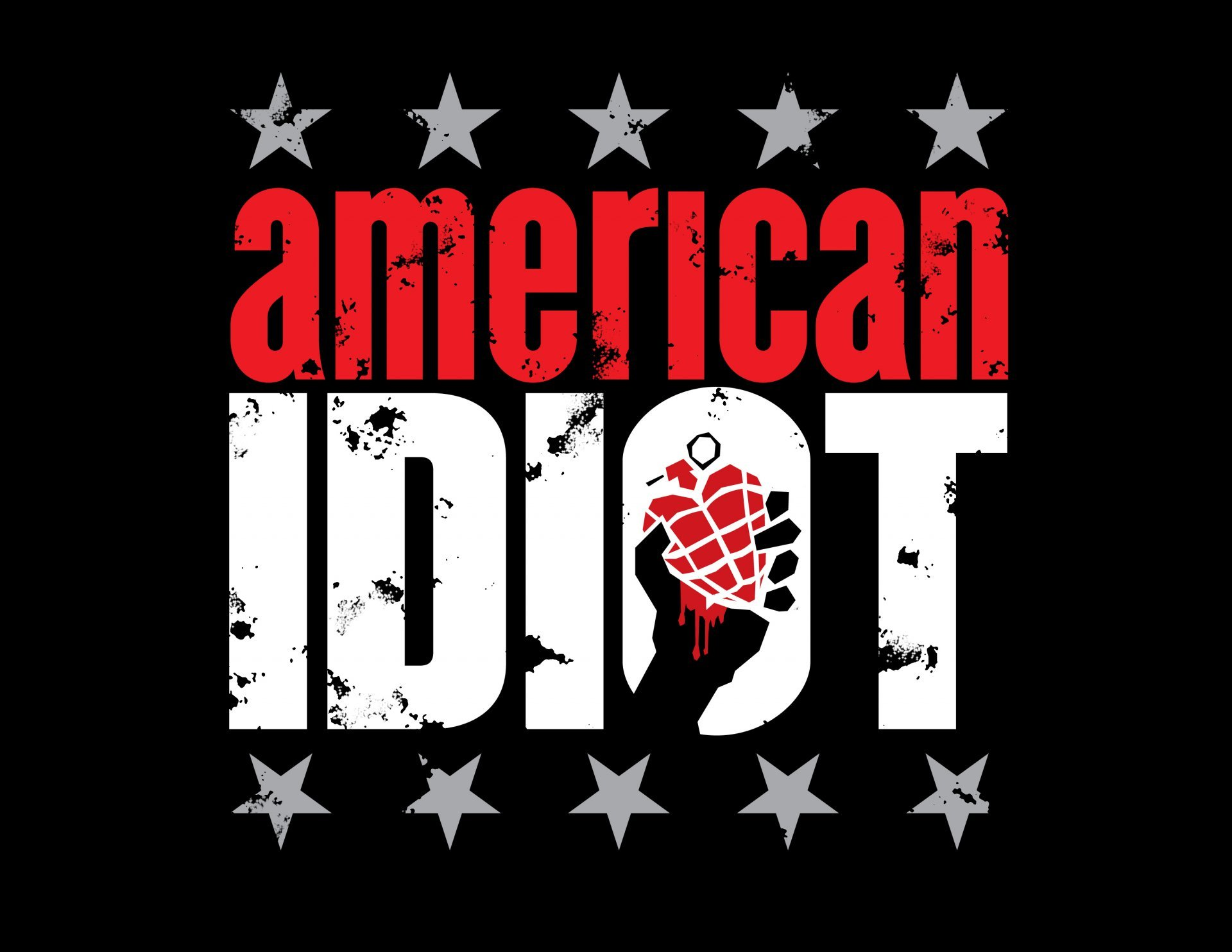 green day american idiot logo grenade star HD wallpaper 1920x1484