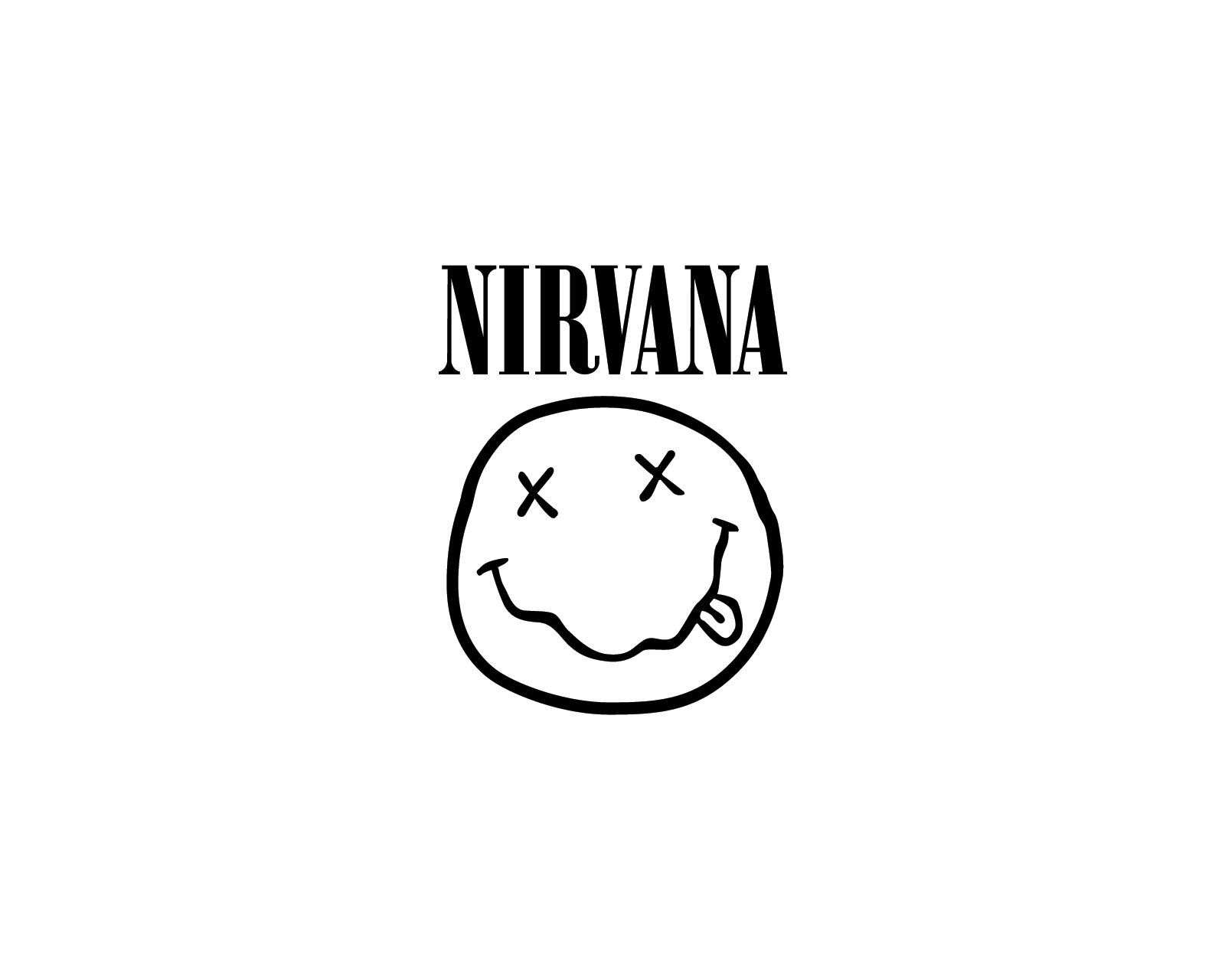 Nirvana logo Band logos   Rock band logos metal bands logos punk 1600x1280