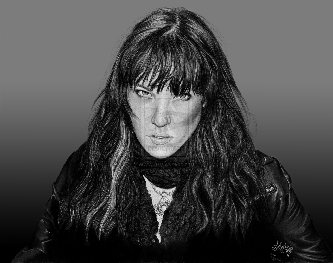 Lzzy Hale Wallpaper Lzzy hale portrait by 1280x1011