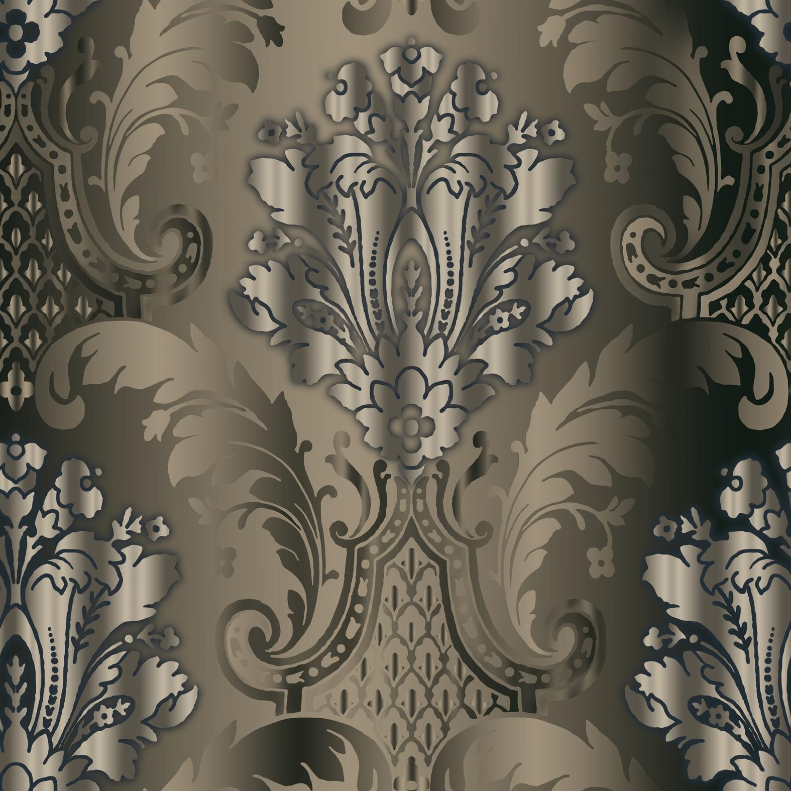 modern damask wallpaper   weddingdressincom 1575x1575