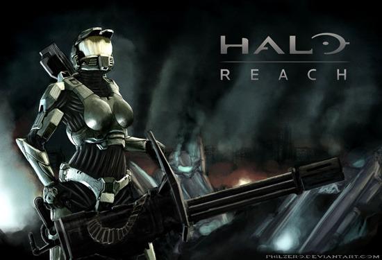 Epic Halo Reach Wallpapers Halo reach wallpapers hd 550x375