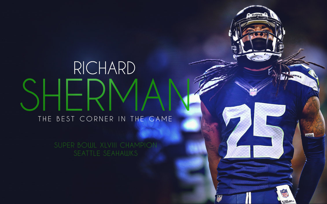 richard sherman wallpaper seahawks richardsherman just something i 1131x707