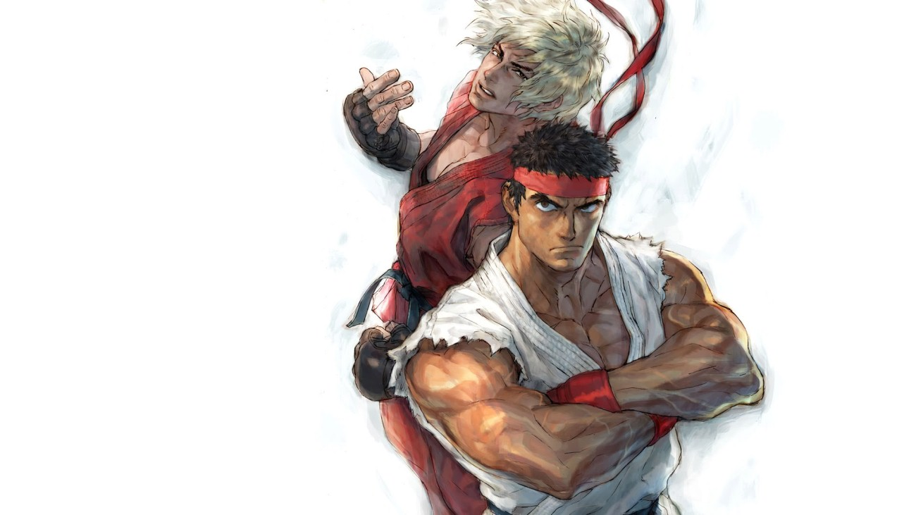 Ryu and Ken Wallpaper ...