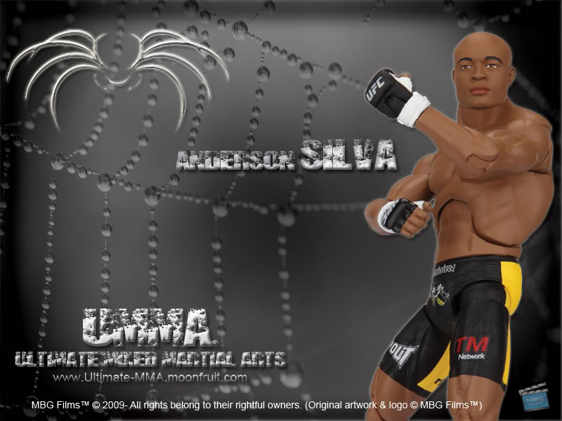 UMMA Anderson Silva Wallpaper UMMA Anderson Silva Desktop Background 800x600