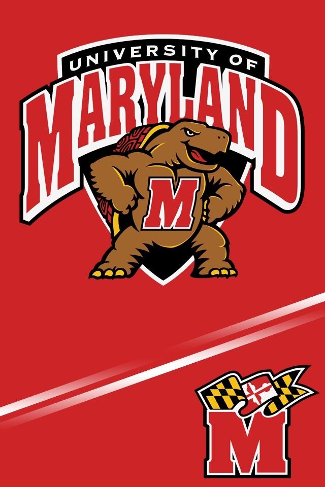 Maryland Terrapins iPhone 4s Wallpaper 640x960