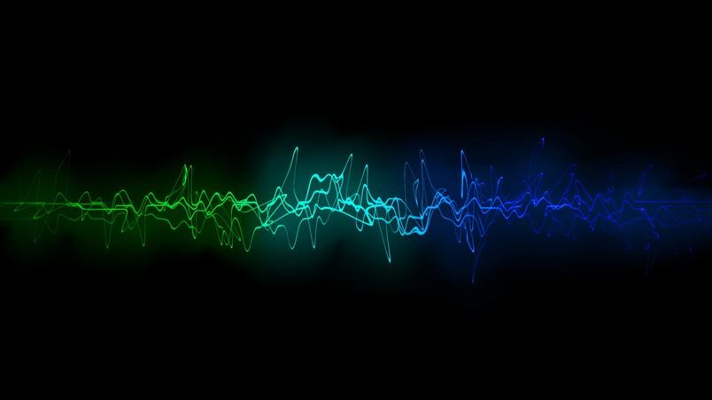 Cool Sound Waves HD Wallpaper   WallpaperFX 804x452