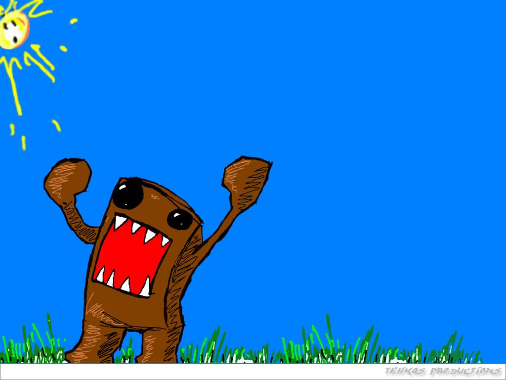 Domo domo kun domo kun wallpaper HQ WALLPAPER   6432 1024x768
