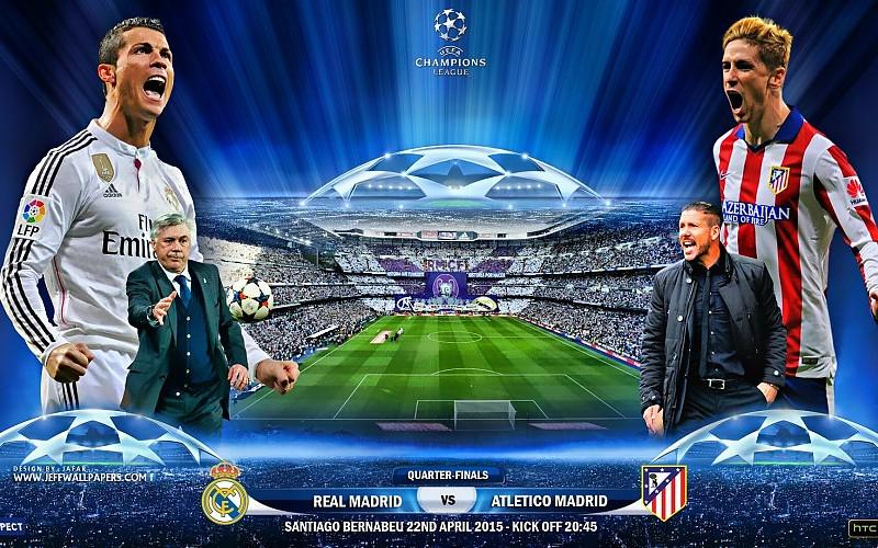 Real Madrid vs Atltico de Madrid 22 de abril 2015 de la 800x500