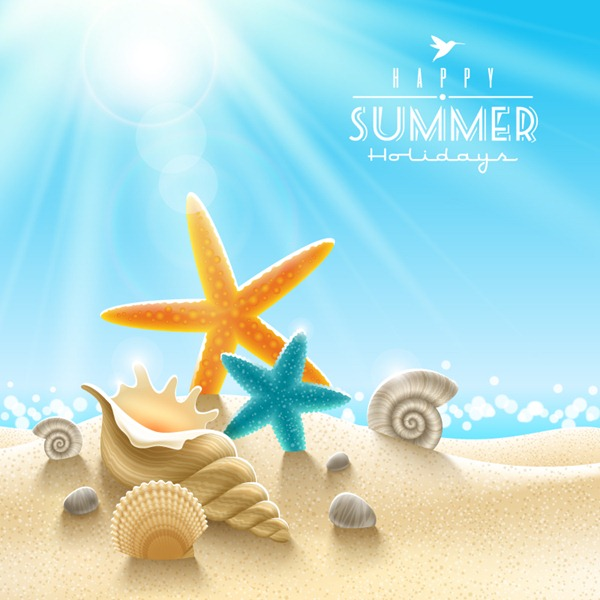 Beach Theme Background Graphics Collection My Photoshop 600x600
