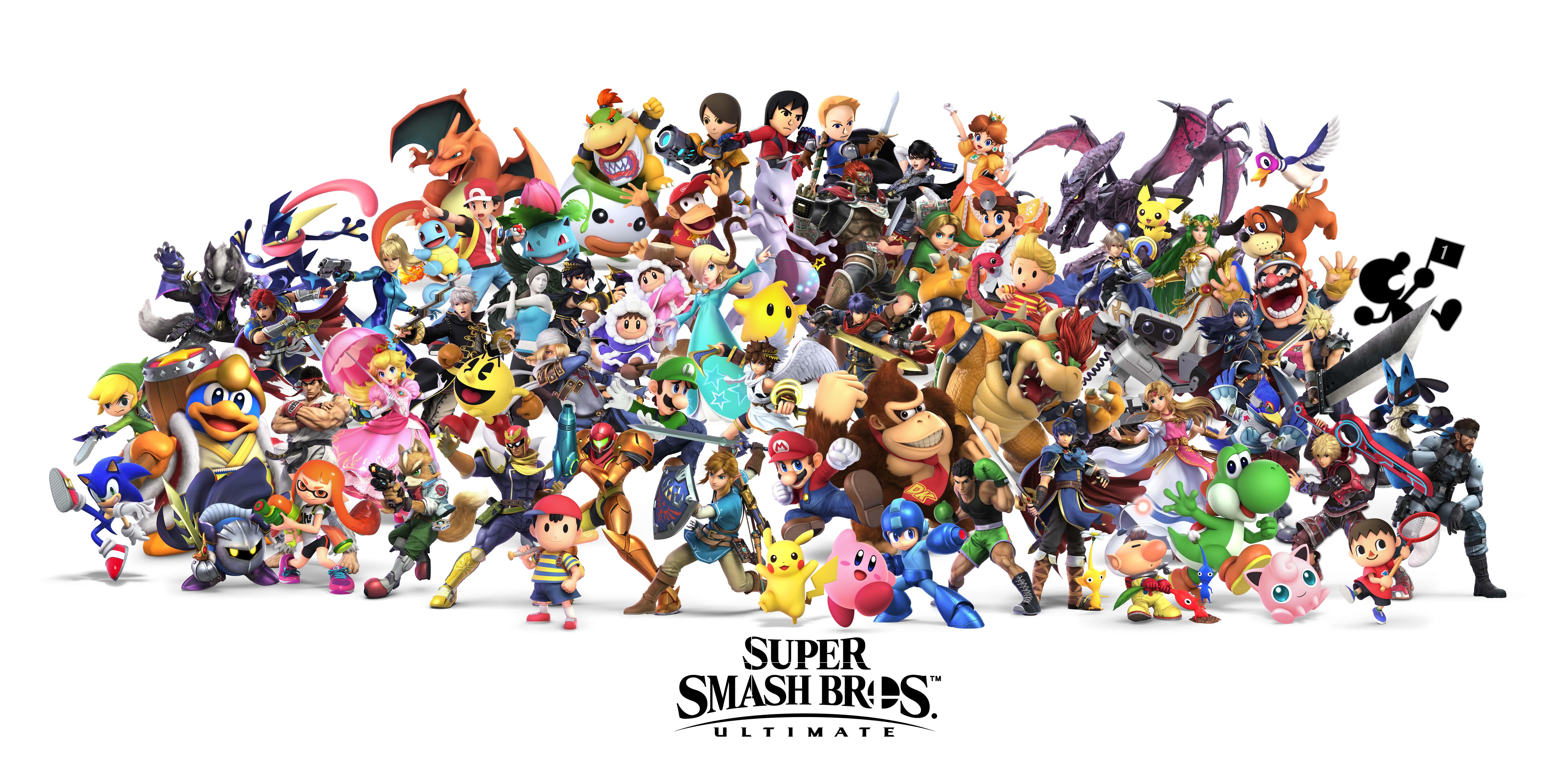 Video Game 9k Wallpaper Super Smash Bros Ultimate 4214 Wallpapers 9272x4587
