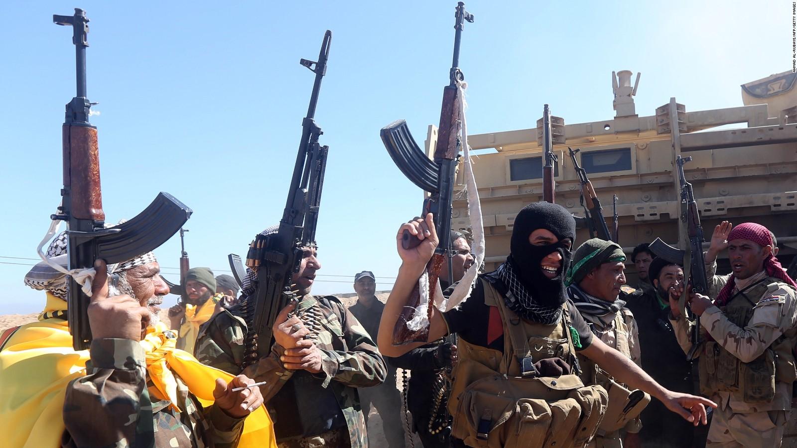 Iraqi troops Shia militias gain ground on Tikrit   CNN Video 1600x900