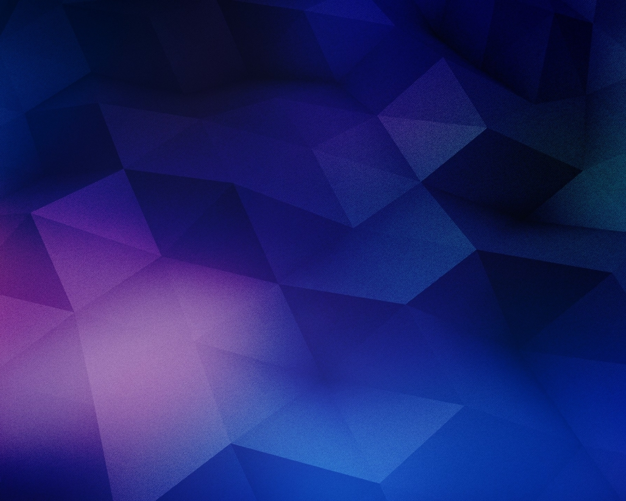 Blue and purple geometry wallpaper in 3D   Abstract wallpapers 1280x1024