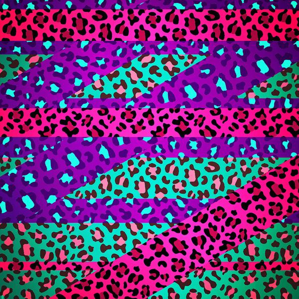 neon rainbow zebra print wallpaper wwwpixsharkcom
