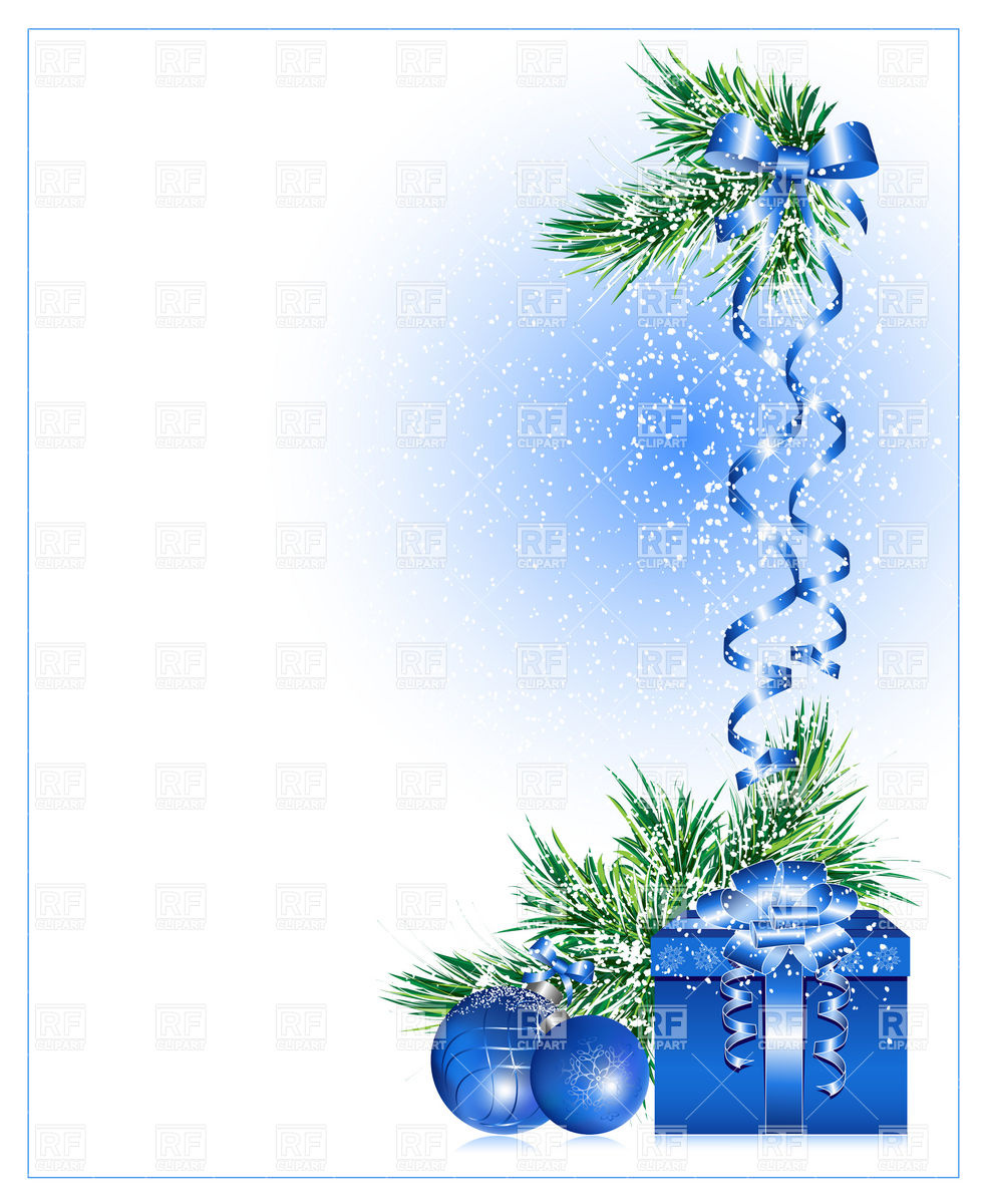 Christmas background with gift box Vector Image of Backgrounds 982x1200