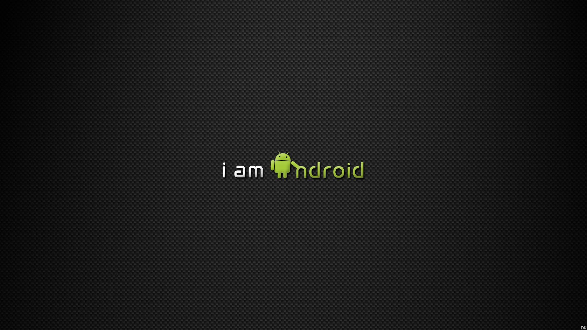 Android Logo Black Background 5392 Wallpaper Cool Walldiskpapercom 1920x1080