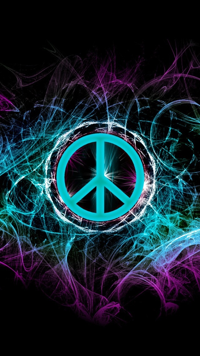 Colorful Peace Sign Backgrounds - WallpaperSafari