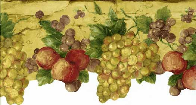Die cut tuscan fruit wallpaper border wallpaper border wallpaper 1440x773