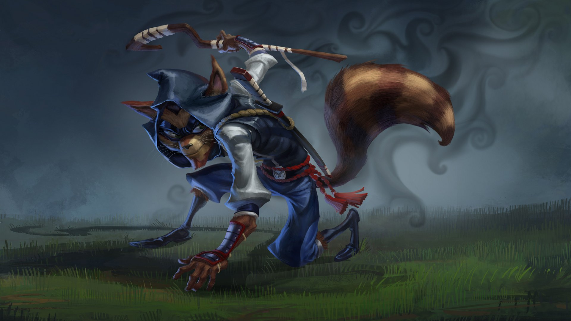 Video Game   Sly Cooper Cooper Sly Wallpaper 1920x1080