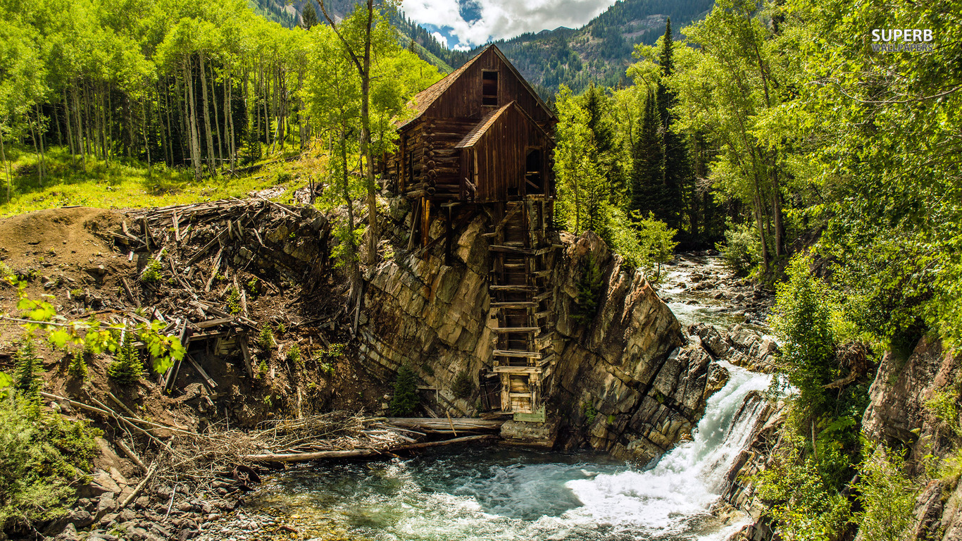 46 Free Mountain Cabin Wallpaper On Wallpapersafari