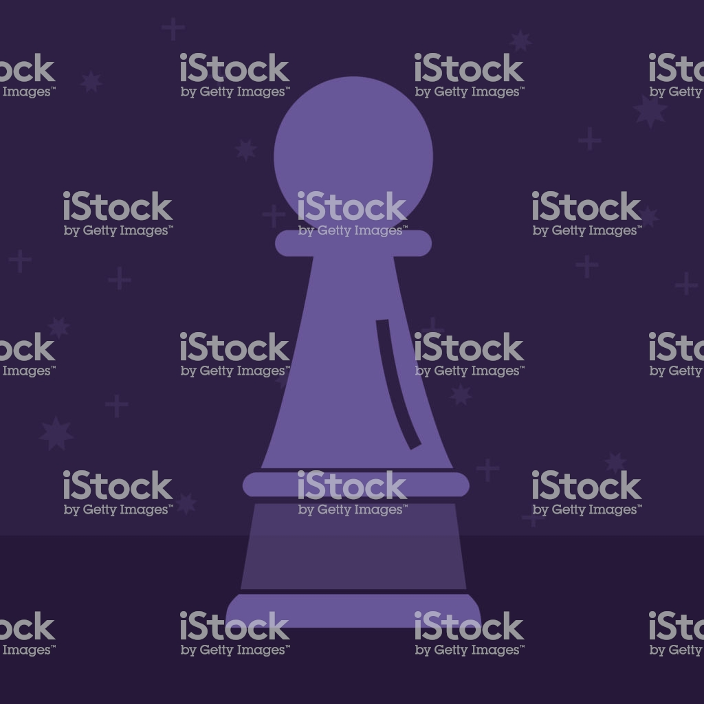 Chess Pawn Simple Icon On White Background Illustration Stock 1024x1024