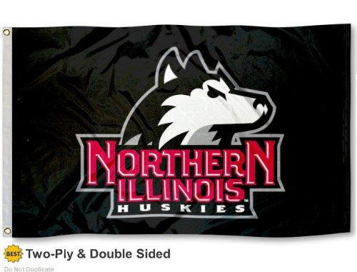 NIU Huskies Double Sided 3x5 Flag 500x381