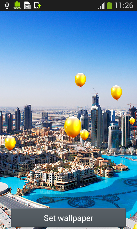 Dubai Live Wallpapers app download for Android 480x800