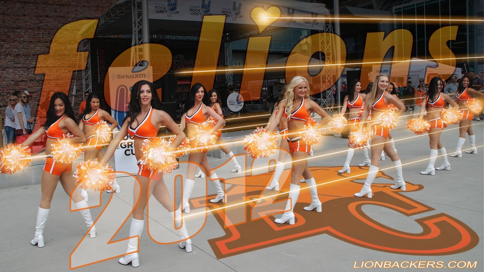 bc lions felion cheerleader wallpaper 2012 bc lions felion wallpaper 1600x900