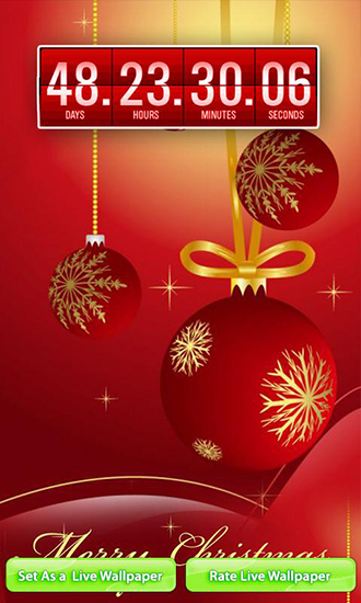 wallpaper for Android Christmas Countdown download for tablet 330x550