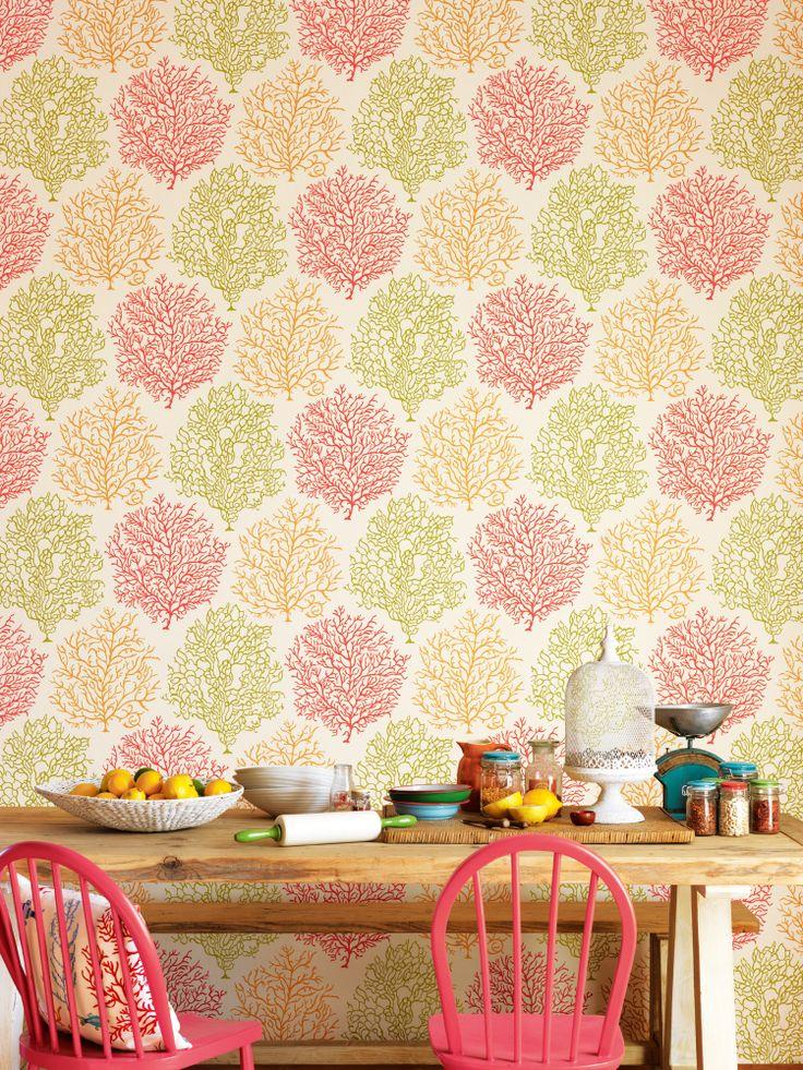 Wallpaper Coral Reef 213391 Design Walls Trim out Pinterest 736x981