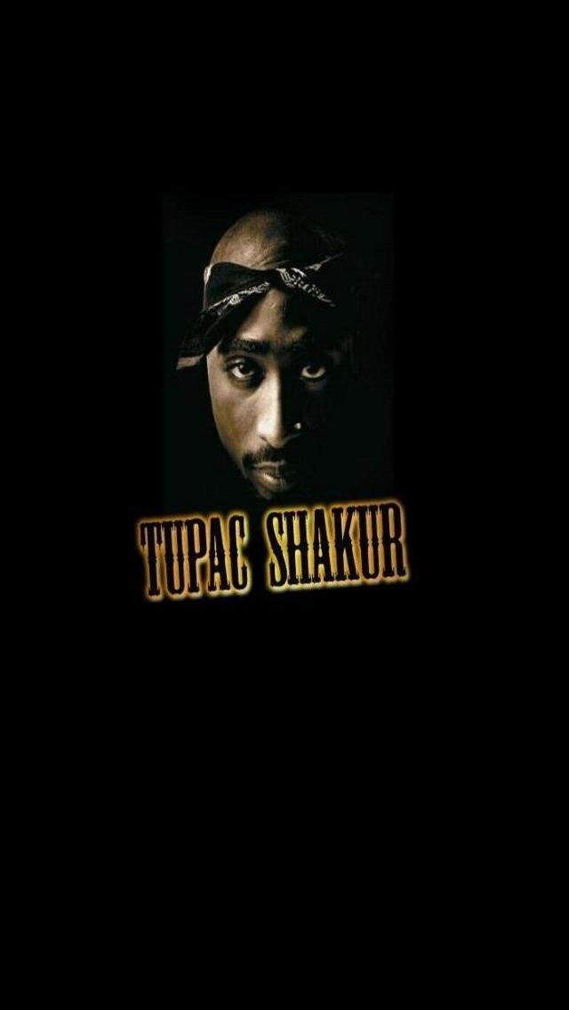 Tupac Shakur iPhone 5 Wallpaper Background 640x1136 Photo Image 640x1136