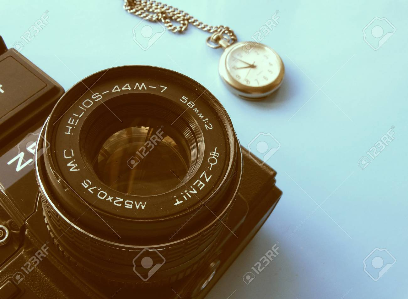 Old Camera Zenith Vintage Style Retro Background Wallpaper 1300x951