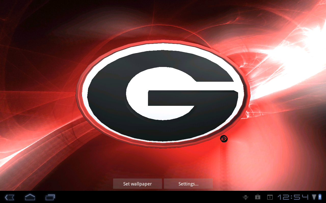 Georgia Bulldogs LWPs Tone   Aplicaciones de Android en Google Play 1280x800