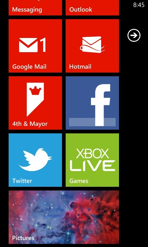 How To Change The Wallpaper in The Windows Phone Picture Hub   Clinton 480x800