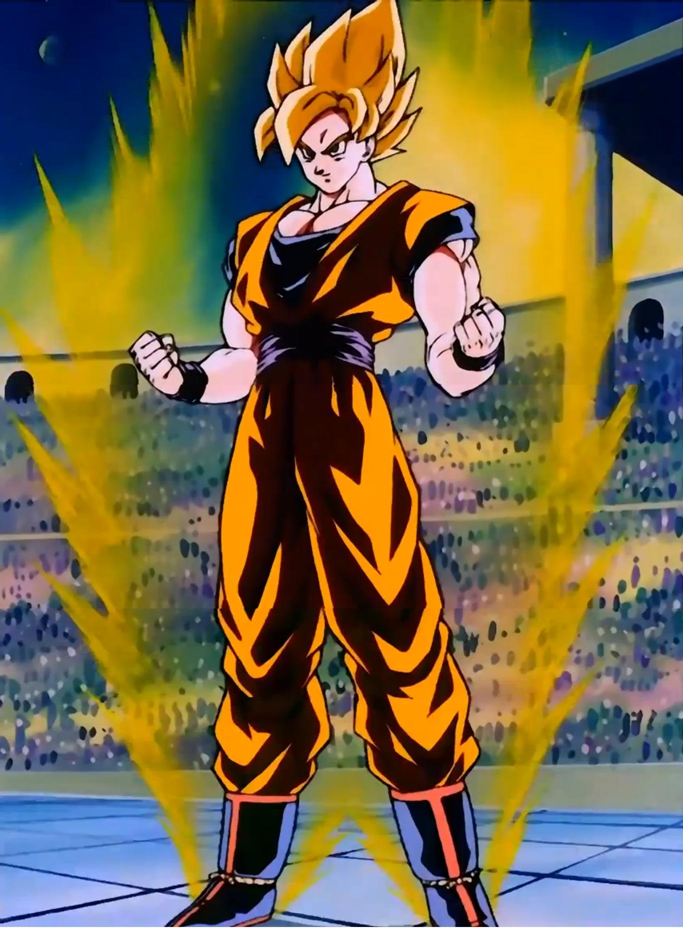 Dragonball Z Super Saiyan Goku id 185341 1365x1853