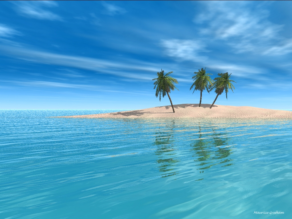 Three Palm Island 1024x768