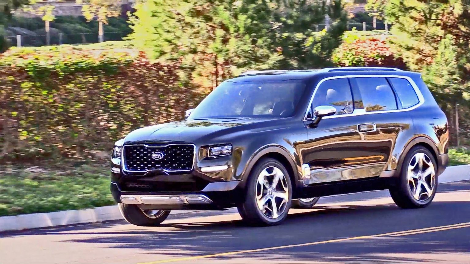 2019 Kia Telluride Engine HD Wallpapers Autoweikcom 1534x863