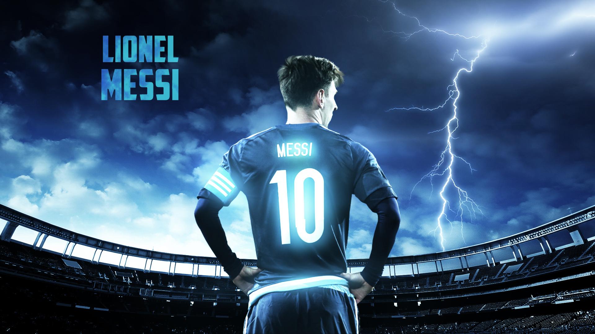 Lionel Messi 2015 Argentina Wallpaper by RakaGFX 1920x1080