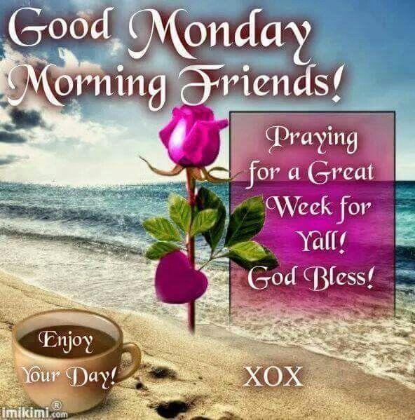592x599px Good Morning Monday Wallpaper Wallpapersafari