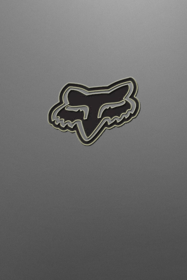 Gray Fox Logo Wallpaper Motocross by drouell 640x960